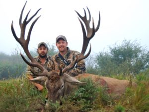Tim Herald Red Stag Hunting Argentina